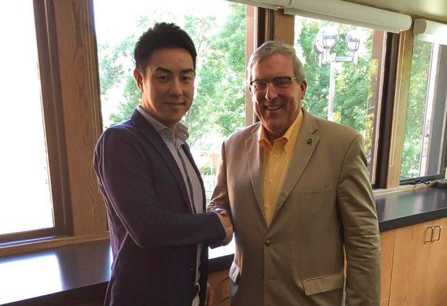FVC松本とフォートコリンズ市長